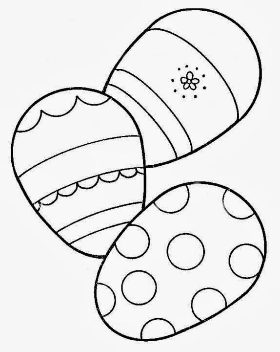 desenhos para colorir e imprimir ovos de pÁscoa para colorir