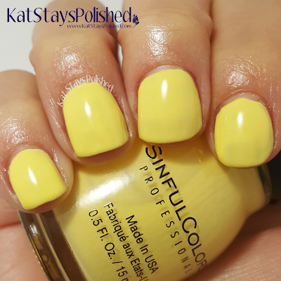 SinfulColors - A Class Act - VIPeach | Kat Stays Polished