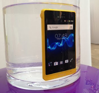 Technology Sony Xperia Go Waterproof Smartphone