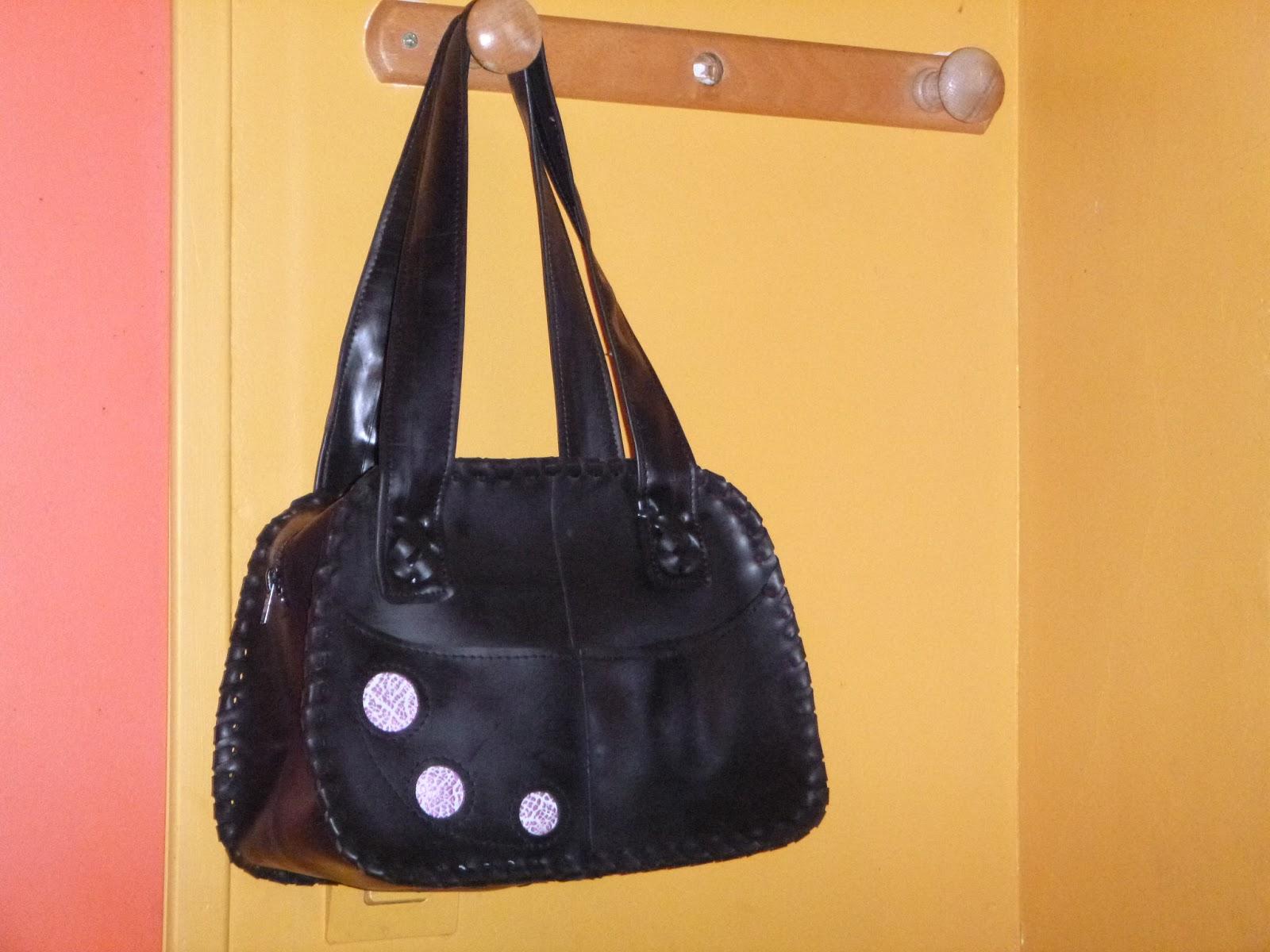 Des nouvaux sacs en chambre air les sacs de lucie cr ation de sacs en chambre air ou - Sac a main chambre a air ...
