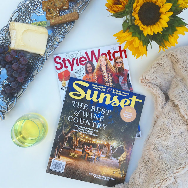 Cheese, Wine and Great Magazines for Fall | www.jacolynmurphy.com