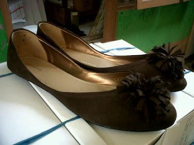 Aneka model sepatu sandal wanita murah ,model sepatu wanita  BROWN