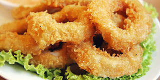 Resep Cara Membuat Cumi Goreng Tepung Crispy