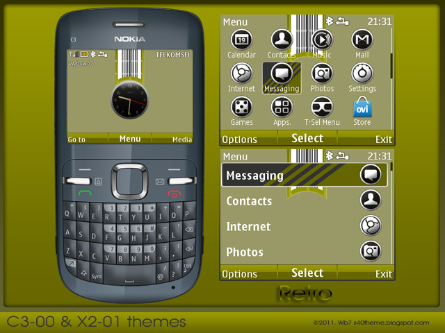 ... 88kB, Nokia C3 Themes Free Download Nokia C3 Themes | Apps Directories