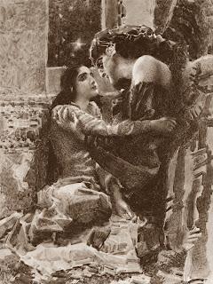 Mikhail Vrubel - Tamara and Demon