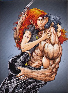 wolverine and jane x man wallpaper anime picture logan