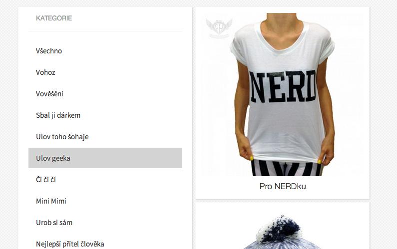 geek, tshirt geek, tričko geek, bílé tričko, dej mi dárek