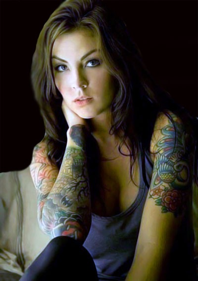 Latest Women Tattoo Designs 2013