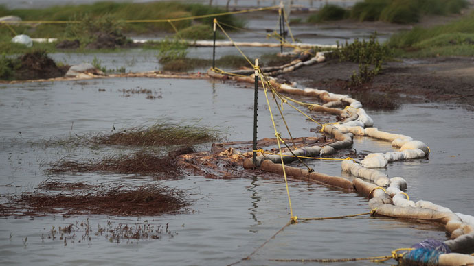 Natural Gas Leaking From Pipeline In Alaska S Cook Inlet