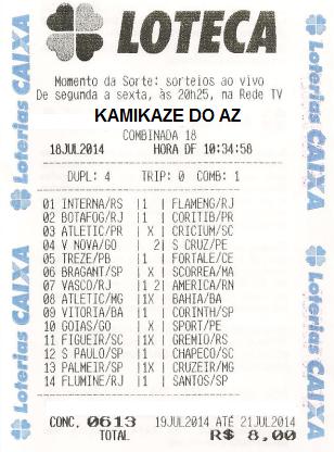 KAMIKAZE 613 - RECIBO
