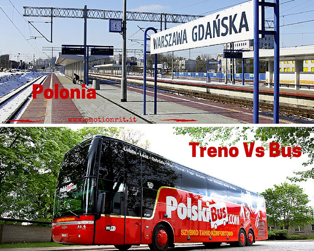 Polonia: viaggio coi mezzi pubblici