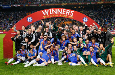 Chelsea Europa League Champions