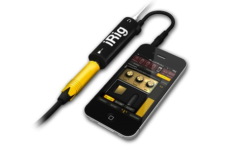 Cómo conectar la guitarra eléctrica a tu iPhone