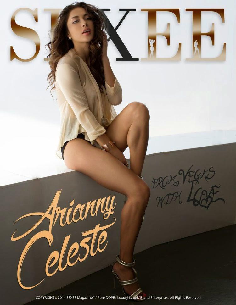 Model, UFC Octagon Girl@ Arianny Celeste - Sexee Magazine, 2015