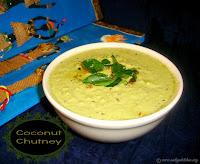 Coconut Chutney recipe /Kobbari Chutney/ Thengai Chutney recipe/Andhra Style Coconut Chutney-A Side Dish For Idli / Dosa