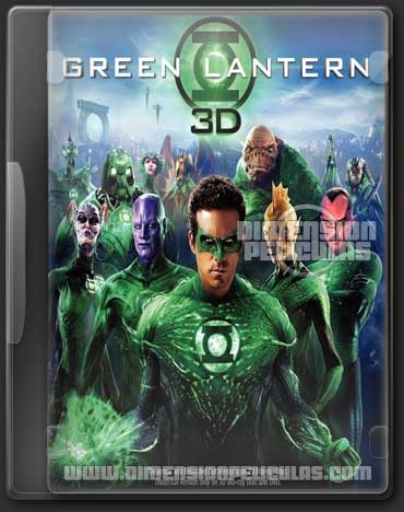 Green Lantern (BRRip 3D FULL HD Inglés Subitulada)
