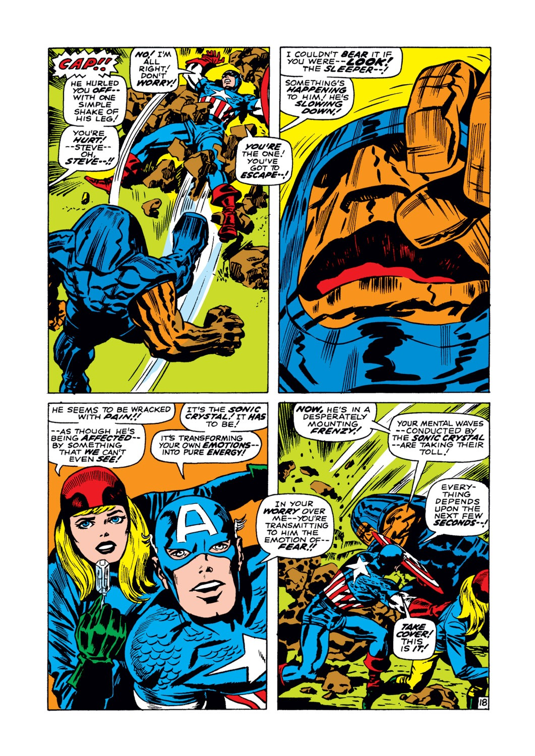 Captain America (1968) Issue #102 #16 - English 19