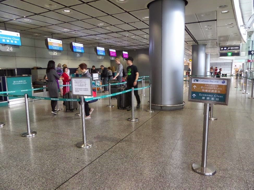 hong kong airline city check in