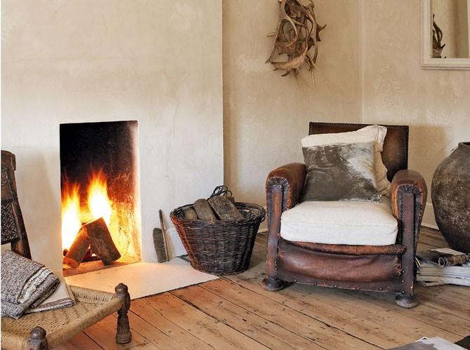 Decorando la francesa 6 ideias para revestir a lareira for Dessus cheminee exterieure