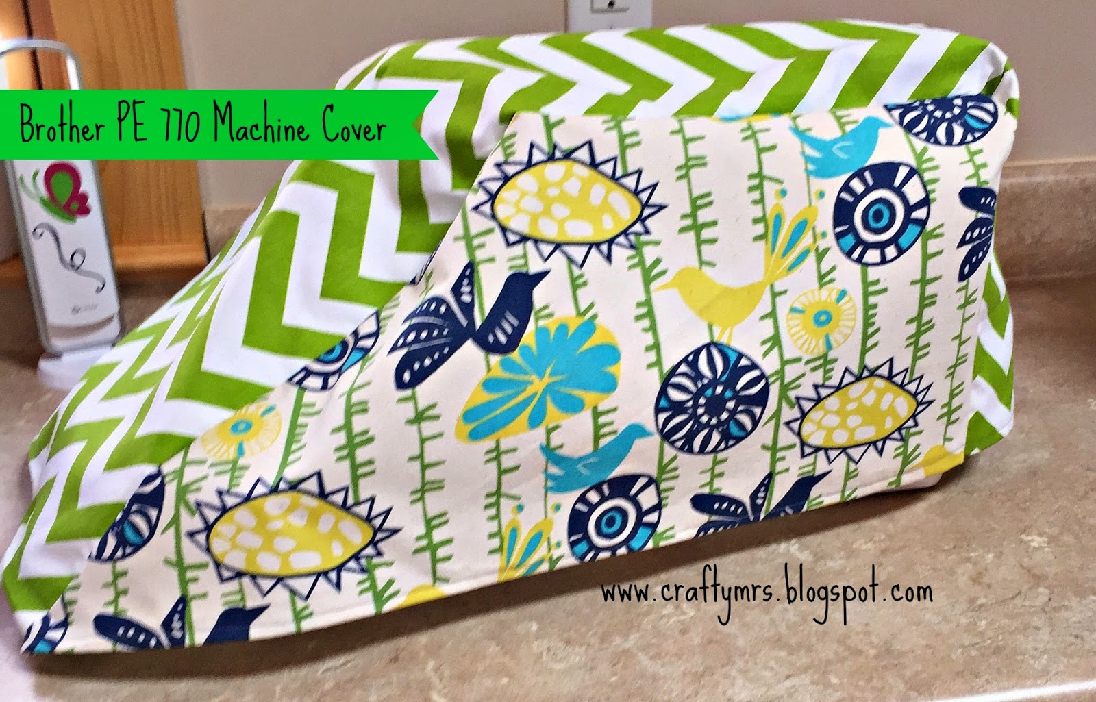 embroidery machine cover pattern