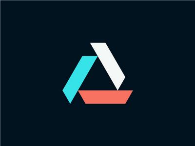 12 contoh desain logo segitiga untuk inspirasi grafis
