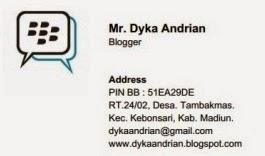 Kartu Nama Saya