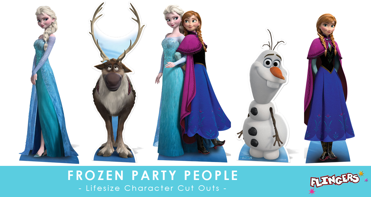 Flingers Party Shop Blog: Frozen Party People