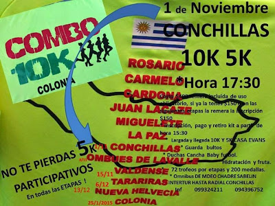 10k Conchillas (Combo Colonia, 01/nov/2014)