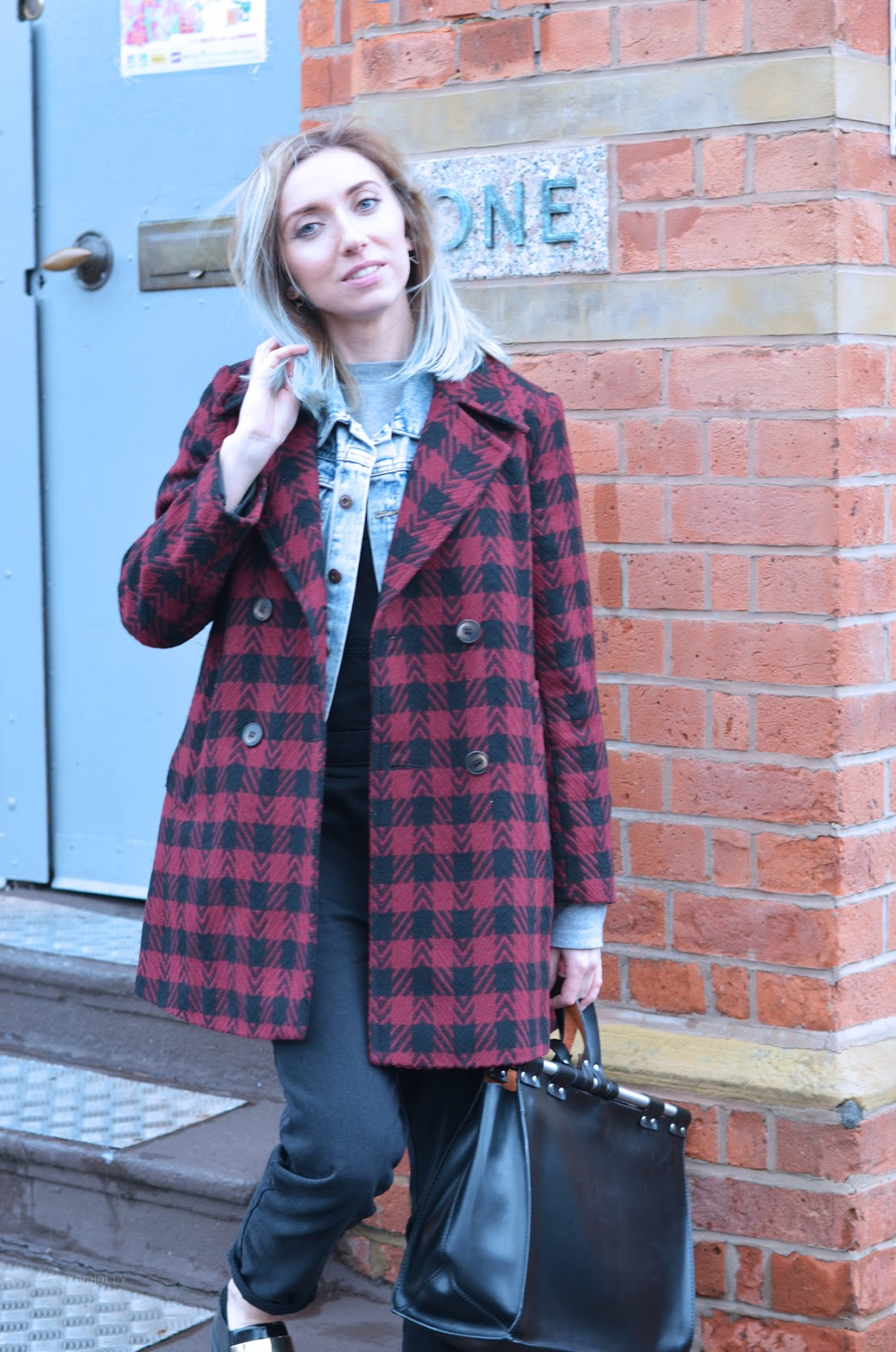 Urban Outfitters Houndstooth Jacket