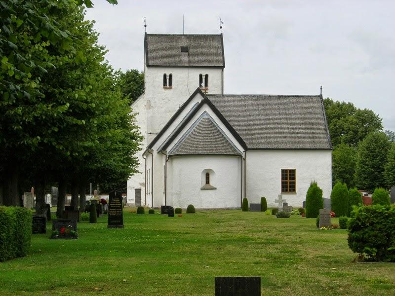Chiesa di Everöd, agosto 2014