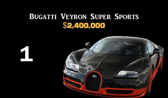Buggati Veyron Super Sports $2,400,000