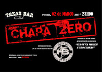 Chapa Zero no Texas Bar