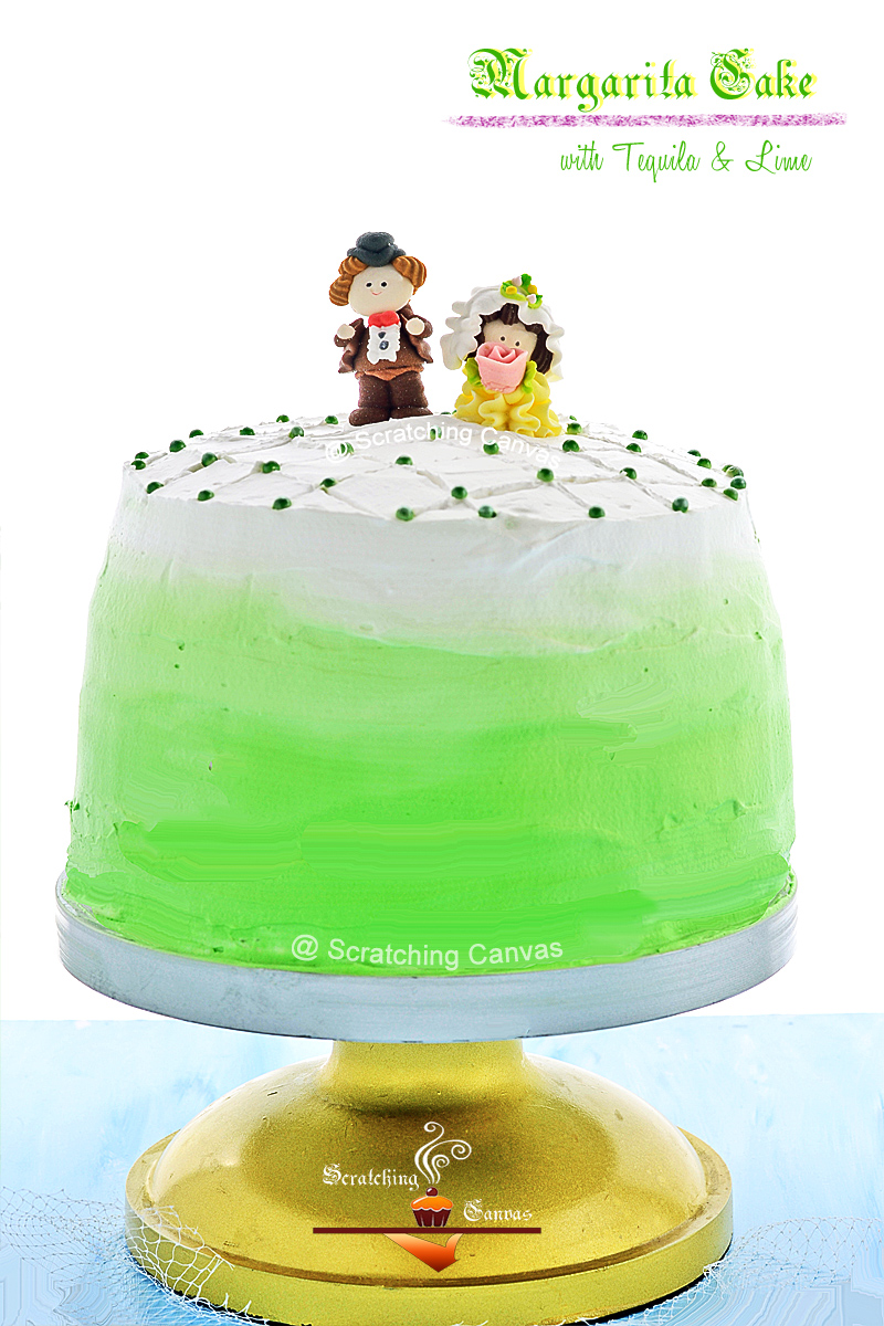 Tequila & Lime Cake