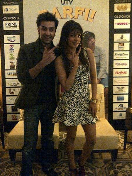 Barfi Team at Dubai for promotion of movie