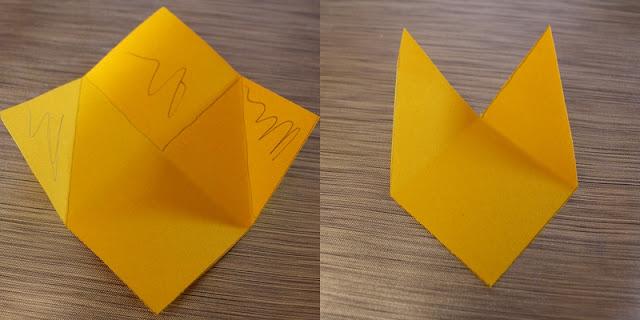 3ème étape marque page Pikachu DIY back to school