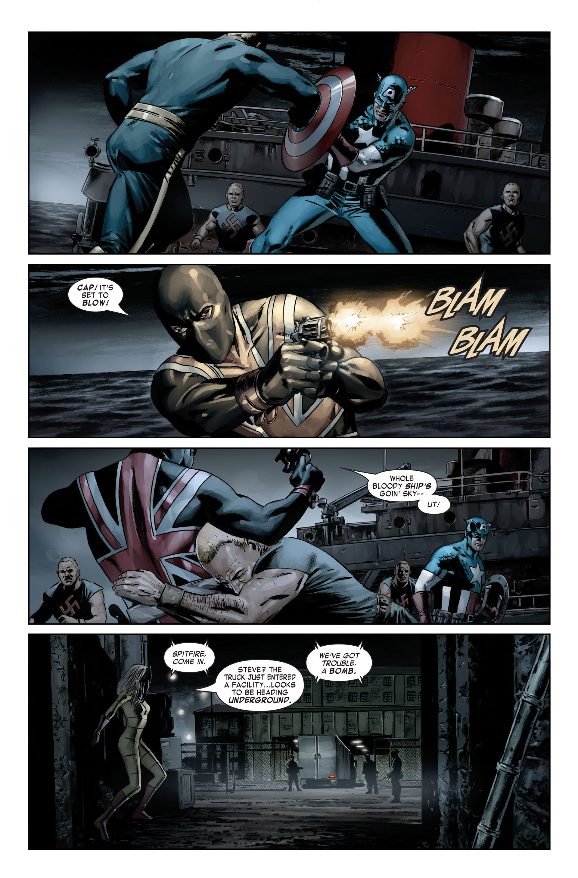 Captain America (2005) Issue #19 #19 - English 6