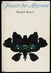 Portada original de Flores para Algernon, de Daniel Keyes