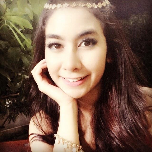 Foto Selfie Artis Cantik Anisa Rahma Terbaru Foto Selfie