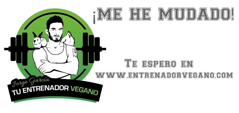 Jorge García, tu entrenador Vegano