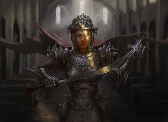 Laura Sava anotherwanderer deviantart ilustrações fantasia belas mulheres Defensoras sagradas