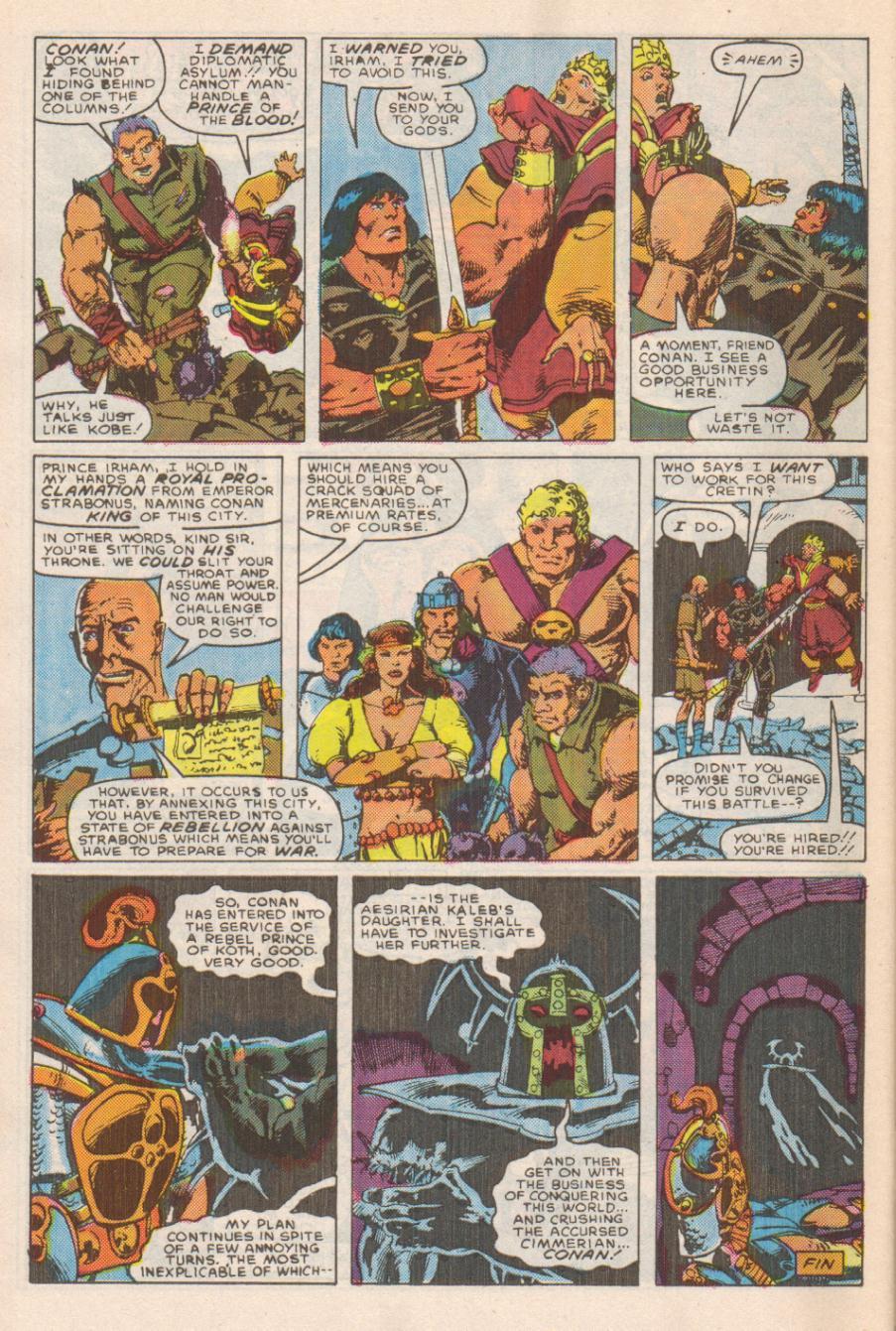 Conan the Barbarian (1970) Issue #191 #203 - English 23