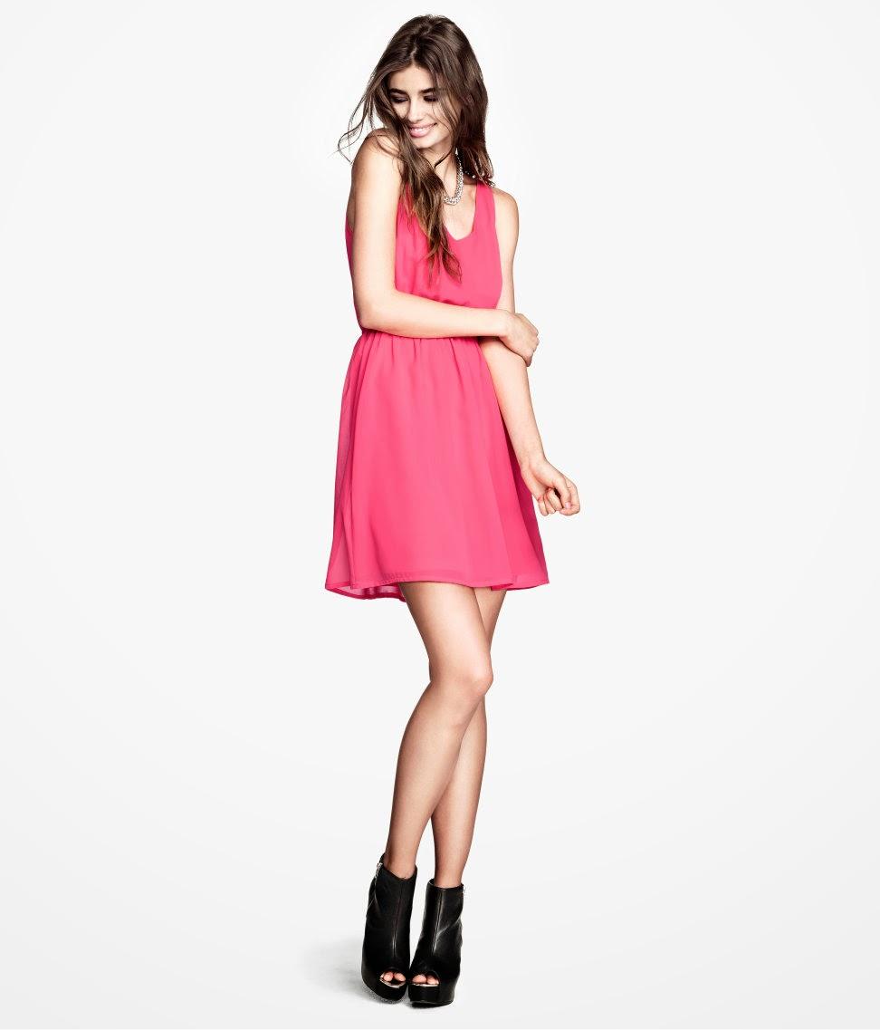 2014+kolsuz+elbise H & M 2014 Sommer Kleidung Models