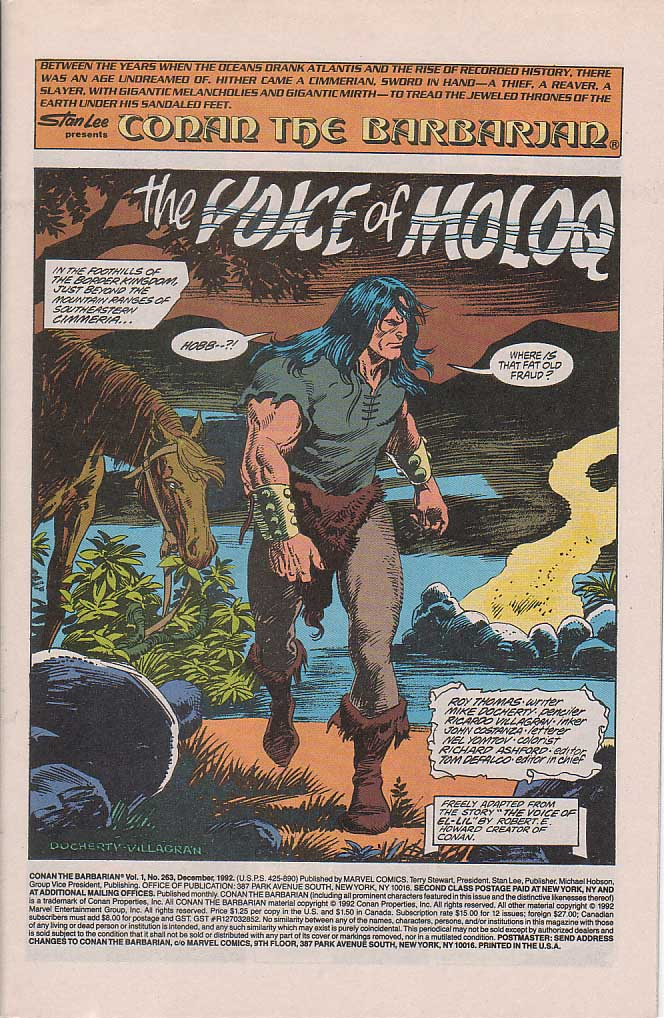 Conan the Barbarian (1970) Issue #263 #275 - English 2