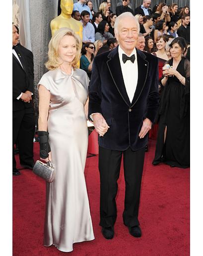 Look Christopher Plummer Oscar 2012