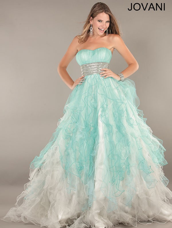 Ball Gown Style Prom Dresses 55