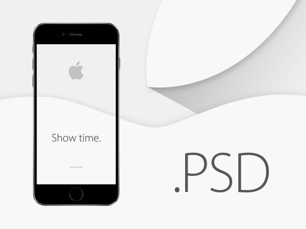 MockUp PSD del Iphone 6