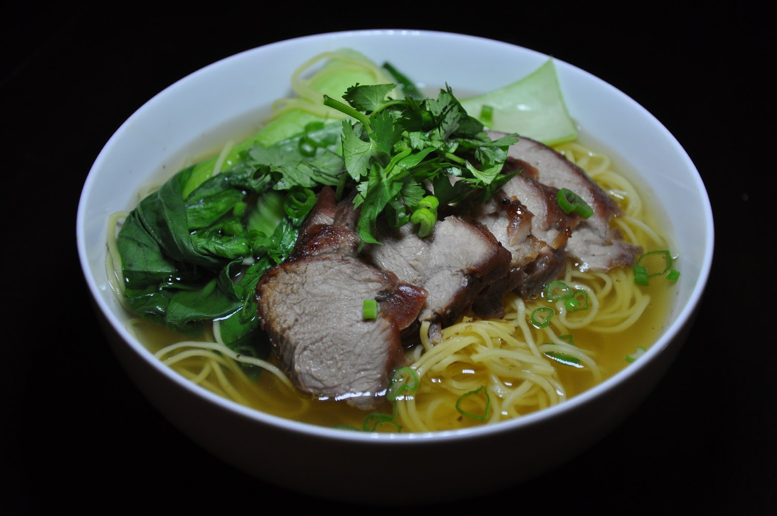 Slice of Rice: (Belated) Chinese New Year Meal#6: Char Siu Noodle Soup ...