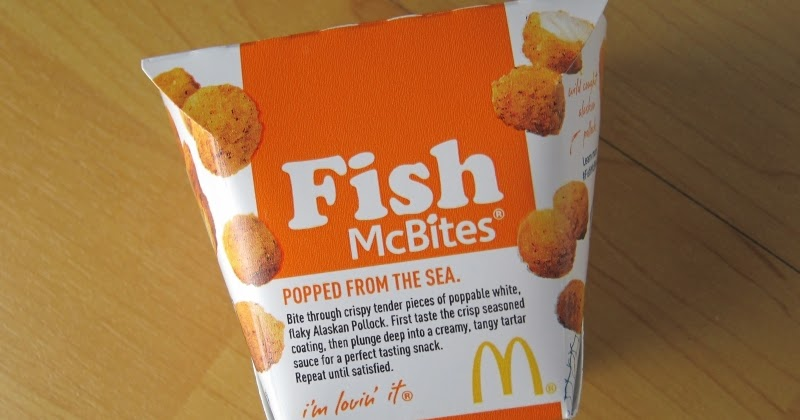Review mcdonald 39 s fish mcbites brand eating for Wendy s fish sandwich 2017