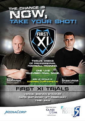 Singapore Soccer Survival: First XI Trials