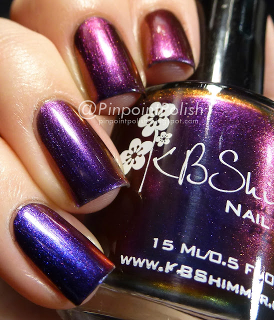 Pigment of my Imagination, KB Shimmer, swatch